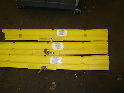 Lot Of 3 Hastings 12936 Line Guards Used