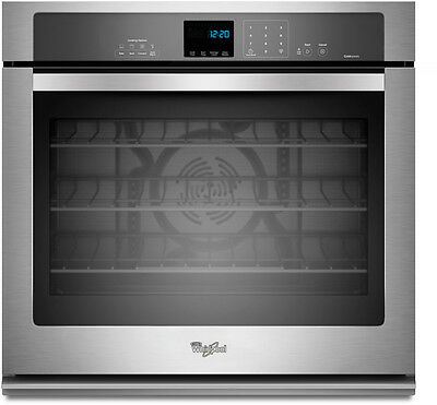 Whirlpool WOS92EC0AS Convection 30 Inch Single Electric Wall Oven