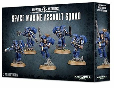 WARHAMMER 40.000 SPACE MARINE ASSAULT SQUAD 48-09 Games Workshop Citadel 40K