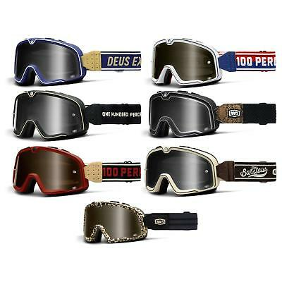 100% Prozent Barstow Classic Goggle Brille Getönt DH MTB MX Downhill Mountain