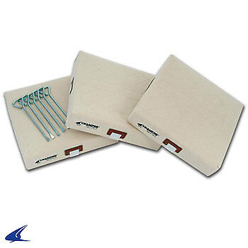 Canvas Baseball Cover Base Set- 15'' x 15'' x 3''