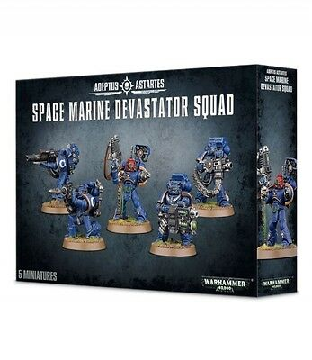 WARHAMMER 40.000 SPACE MARINE DEVASTATORI 48-15 Games Workshop Citadel 40K