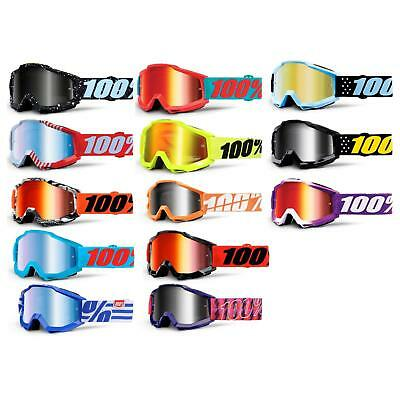 100% Prozent Accuri JR Kinder Goggle Brille Mirror Verspiegelt DH MX Downhill