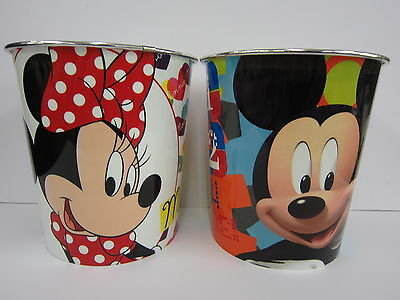 Disney Plastic Waste Bin (2 Designs)