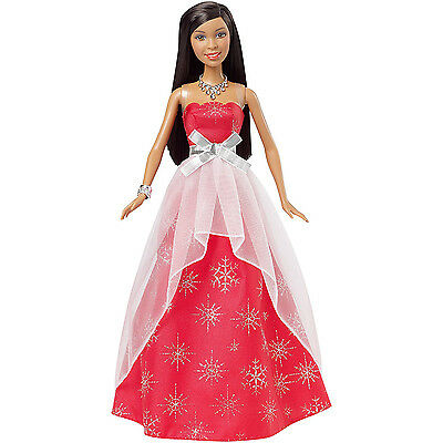 Barbie 2015 Christmas Holiday Collection Sparkle African-American Doll | CLW90