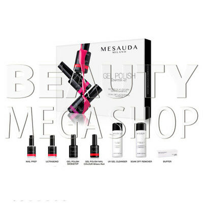 Mesauda Kit – Gel Polish Starter Kit Semipermanente per Unghie Professionale