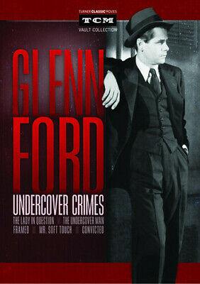Glenn Ford: Undercover Crimes [New DVD] Manufactured On Demand, Boxed Set, Dol