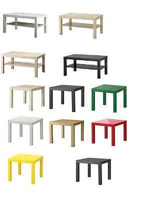 Ikea Coffee table  Lack Coffe Table  with shelf Mix Colour and Sizes