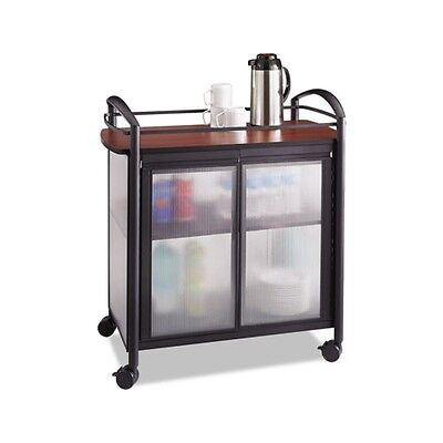 Safco Impromptu Refreshment Cart - 8966BL