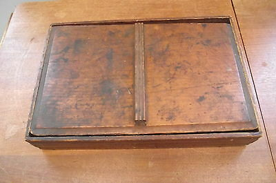Antique 1893 Rubber Stamp Collection in Antique Box !!