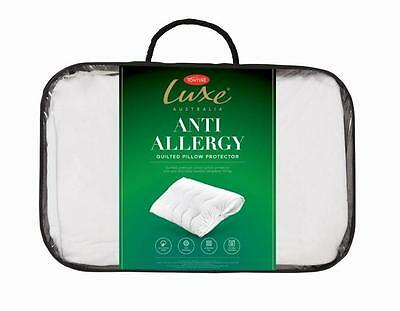White,Size 74x48cm Anti Allergy Pair of Pillow Protector 100/% Cotton With Zip