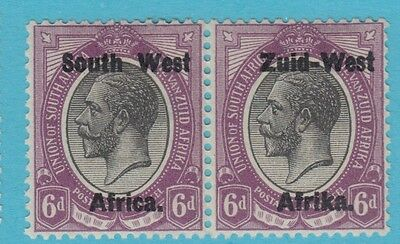 South West Africa 6 1923 Mint Hinged Og No Faults Extra Fine