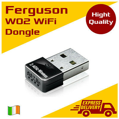 USB WiFi Dongle Stick Ferguson W02 for Ariva and Zgemma boxes
