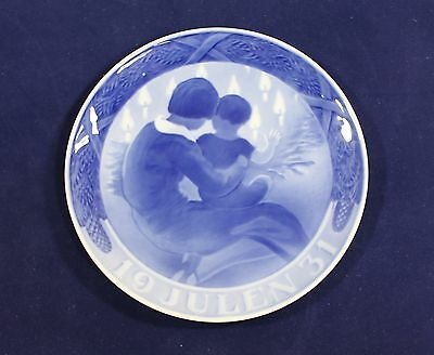 1931 Royal Copenhagen Christmas Plate 'Children by the Christmas Tree' MELCHIOR
