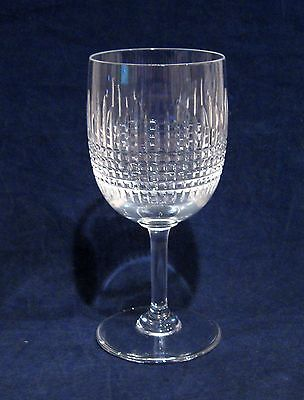 "Baccarat Nancy 6 1/8"" Water Goblet Glass"