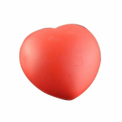 Cute Elastic Rubber Stress Relief Ball Heart Shaped Exercise Stress Relief Sq...