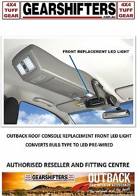 Outback Roof Console  Front Replacement Light Assembly Led Conversion Upgrade