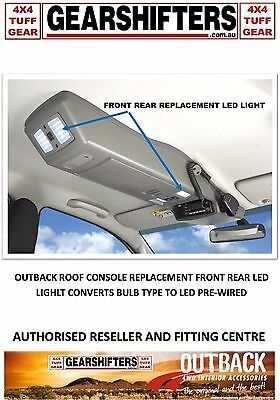 Outback Roof Console  Front Rear Replacement Light Assembly Led Convert  Upgrade