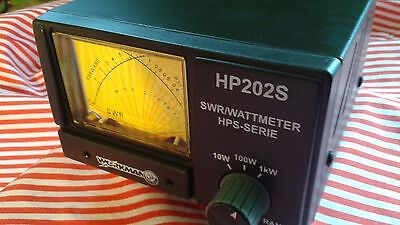1KW CB 10 Meter Radio Base Station1-1000 watts CROSS NEEDLE easy-to-read HP202S