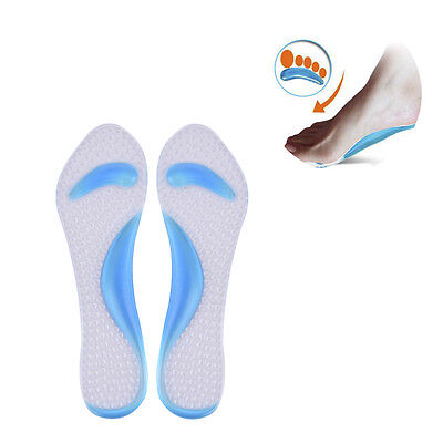 1 Pair Premium Orthotic Shoes Insoles Insert High Arch Support Pad Women New