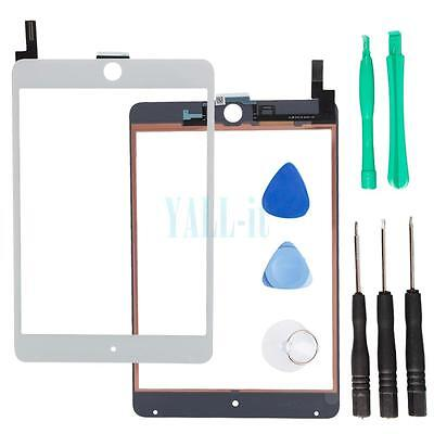 Touch Screen Digitizer Glass Lens Replacement for iPad Mini 4 White A1538 A1550
