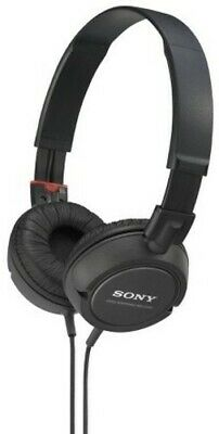 SONY MDRZX110BK Compact Folding Headphones Black [New Electronics] Black