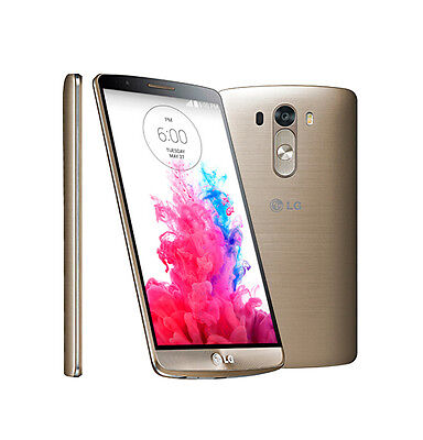 Neuf 5.5'' LG G3 D855 16 Go 13 Mpx Unlocked 3G 4G androïde Smartphone - Doré