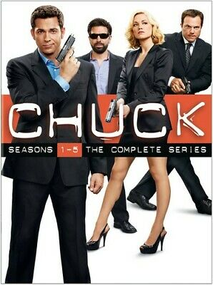 Chuck - Chuck: The Complete Series [New DVD] Boxed Set, Collector's Ed, Dolby, S