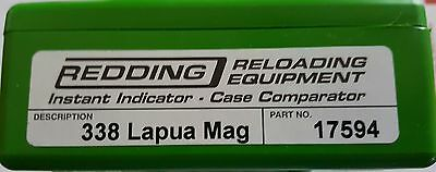 17594 Redding Instant Indicator Without Dial - 338 Lapua Mag - New Range Adapter