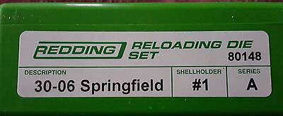 80148 Redding 2-Die Full Length 30-06 Springfield Die Set - Brand New  Free Ship