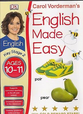 English Made Easy Ages 10-11 Key Stage 2 by Carol Vorderman - New Book