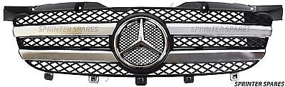Mercedes Sprinter W906 New Complete Front Chrome Grill 2006-2013 (NOT STRIPS!)