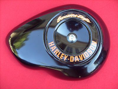Genuine Harley 2013 Dyna Street Bob Black Air Cleaner Cover Screamin Eagle 2008+