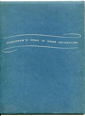 "1941 ARMSTRONG LINOLEUM Promo Booklet: ""Tomorrow's Ideas in Home Decoration"""