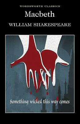 Macbeth By William Shakespeare Wordsworth classics Book New Free UK Delivery