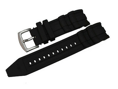 New Black Rubber Watch Strap Band made For Invicta Pro Diver