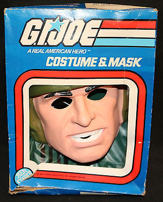 Ben Cooper G.I. Joe A Real American Hero Costume & Mask - Vintage - 1982