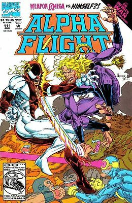 Alpha Flight #111 (Aug 1992, Marvel) VF COMIC BOOK