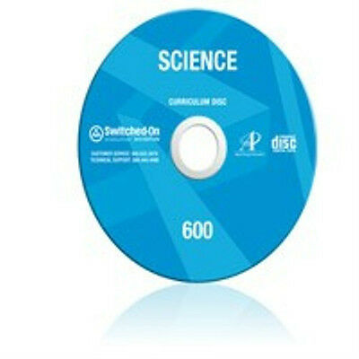 6th Grade SOS Science Homeschool Curriculum CD Switched on Schoolhouse 6