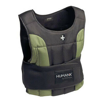 HumanX 20lb (9Kg) Weight Vest by Harbinger The WOD Life Crossfit