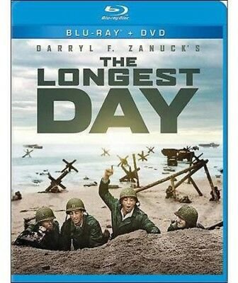The Longest Day [New Blu-ray] With DVD