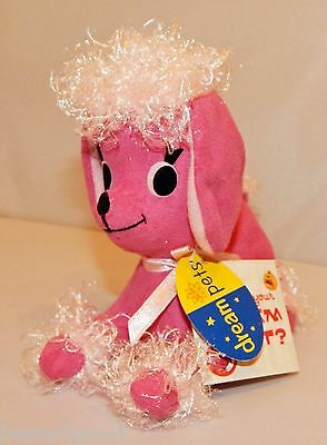 2004 Re-Issue Dakin Dream Pets Penny Pink Poodle