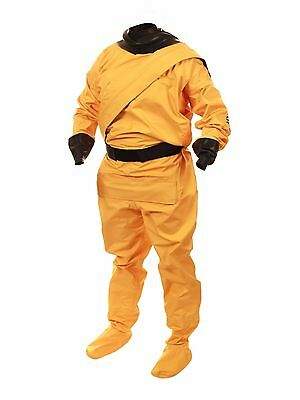 Drysuit for Paddlesports: Enki Relief by Mythic Gear, Unisex, XL, yellow