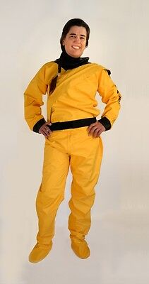 Drysuit for Paddlesports: Sobek by Mythic Gear, Unisex, yellow, XL