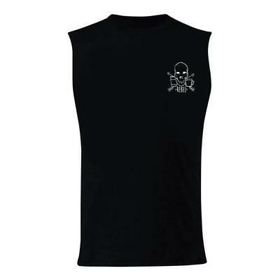 New Rebel Coffee Co. Muscle Tank - Death Before Decaf - Black from The WOD Life