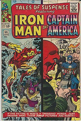 TALES OF SUSPENSE 66 HIGH GRADE VF/NM, cents copy with store stamp