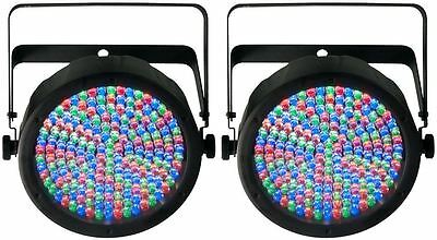 Pair Of Chauvet SLIMPAR64 Slim Par Can 64 Lights SLIMPAR 64