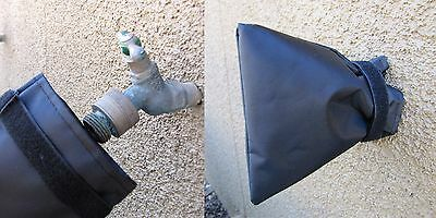 Outdoor Faucet Cover Sock for Cold Weather and Freeze Protection