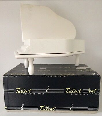 Tallent Of Old Bond Street Piano Music Box