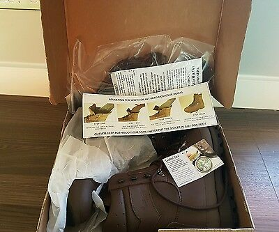 Altberg brown boots size 8